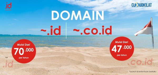 Promo Domain Apapun .ID & .CO.ID